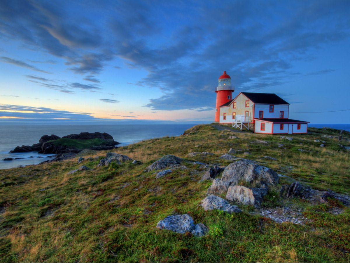 Lighthouse in Atlantic Canada