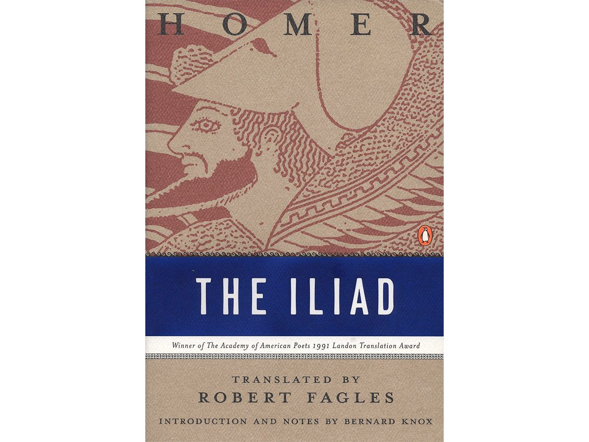 Best book for you based on your zodiac sign - the iliad aries