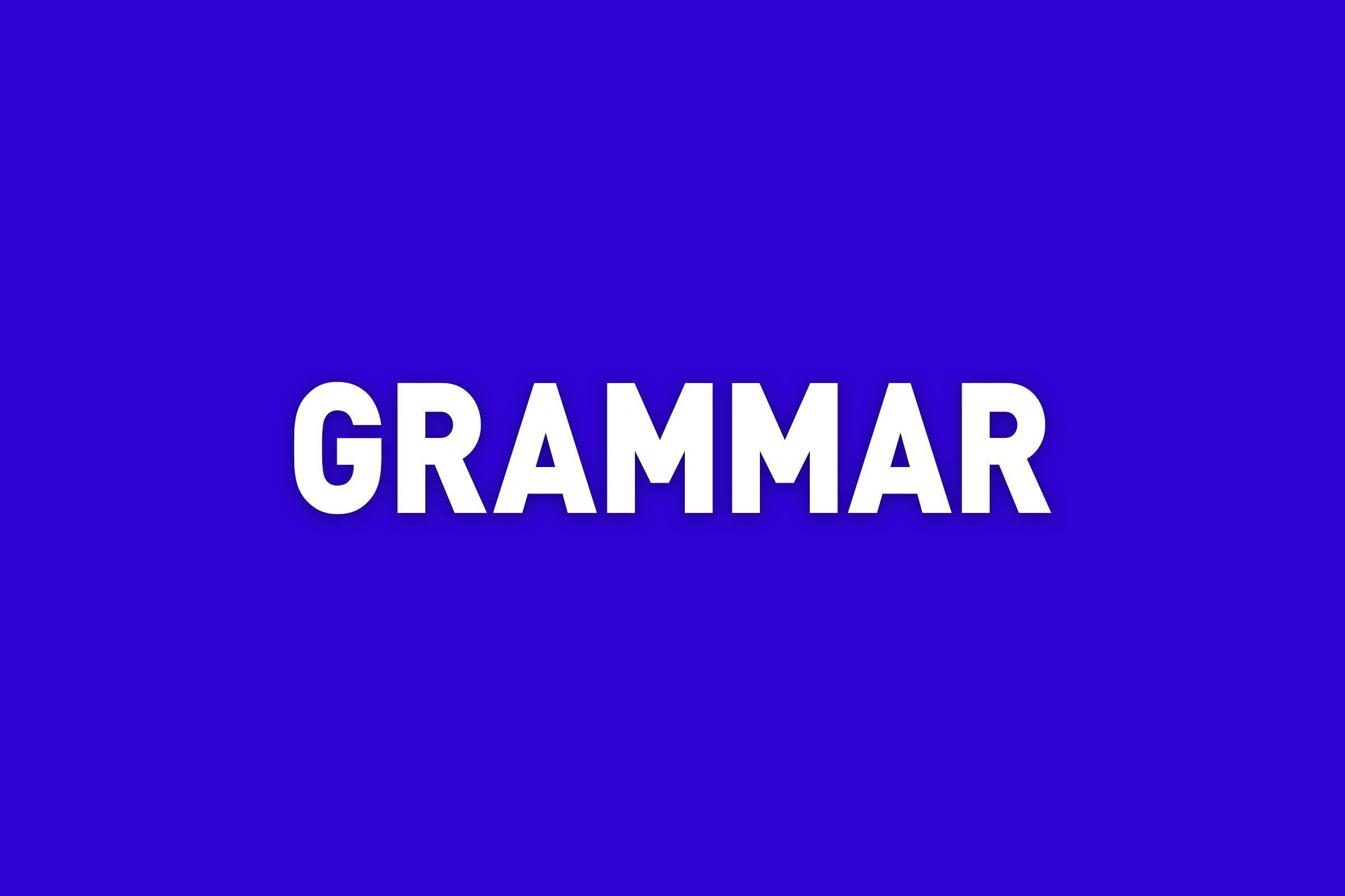 """""""Grammar"""" written in Jeopardy style"""