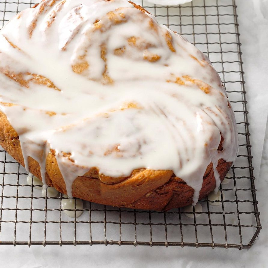 Slow Cooker Cinnamon Roll