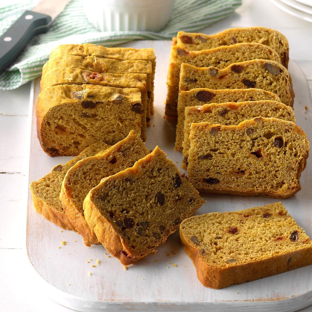 Slow-Cooker Pumpkin Yeast Bread