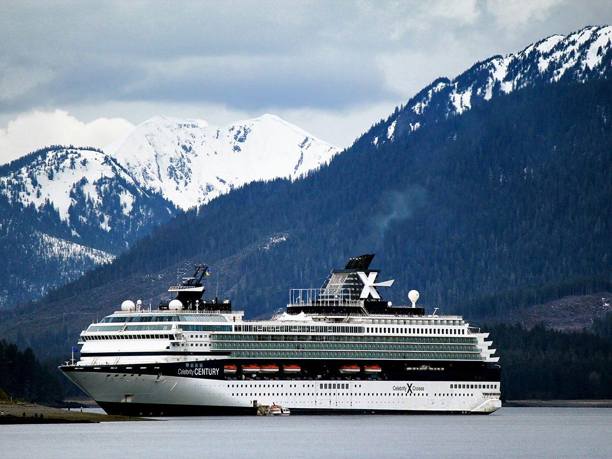 Best boat photography across Canada - Alaska cruise ship