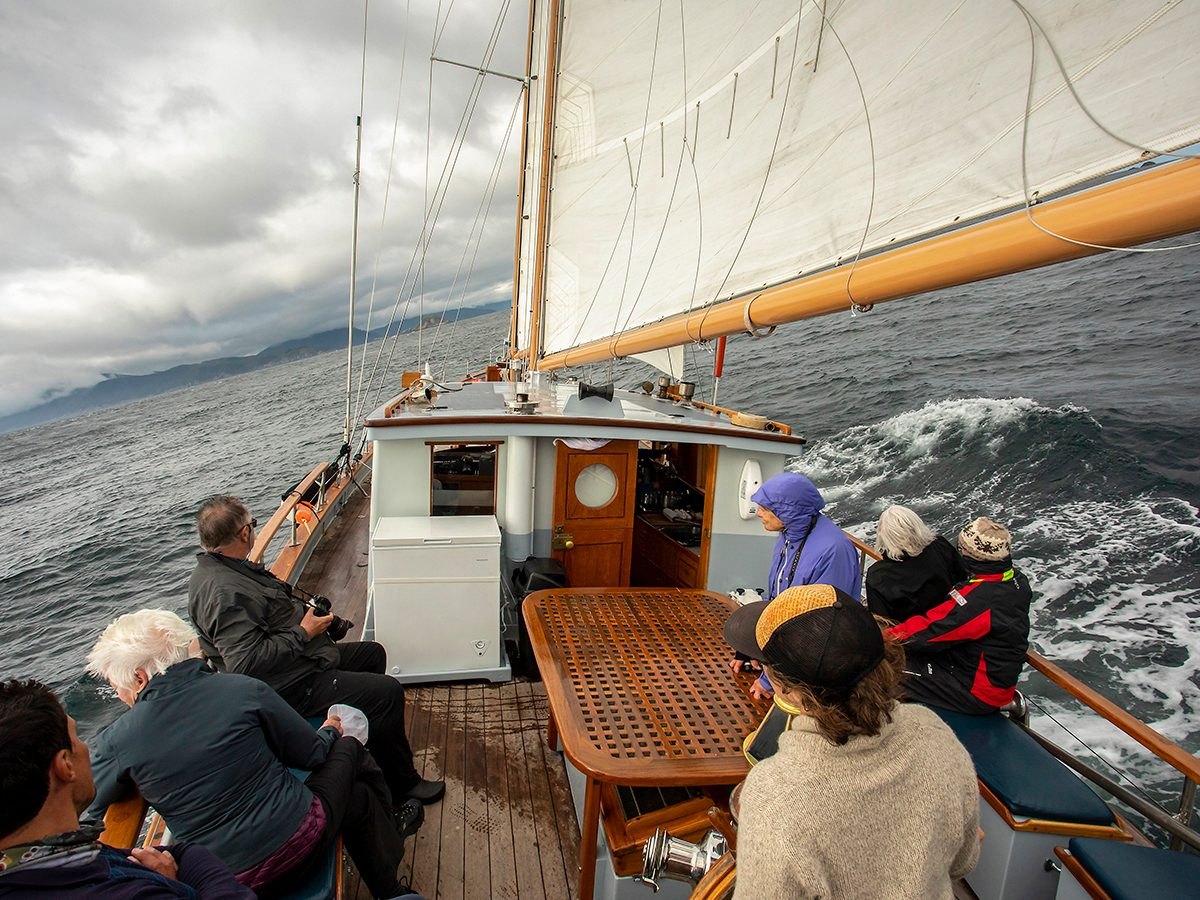 Best boat photography across Canada - Sailing around Haida Gwaii