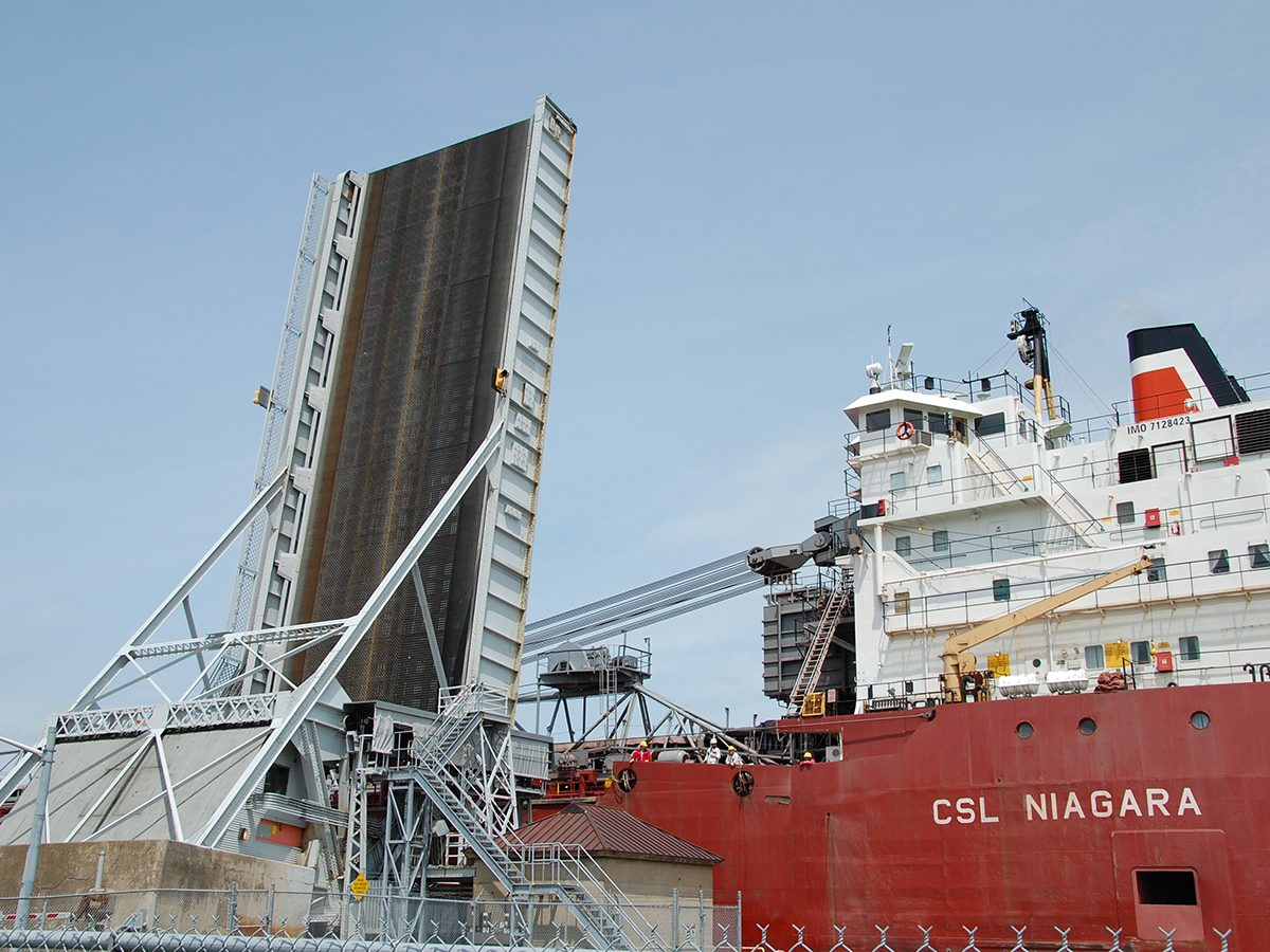 Best boat photography across Canada - Ship in Welland Canal