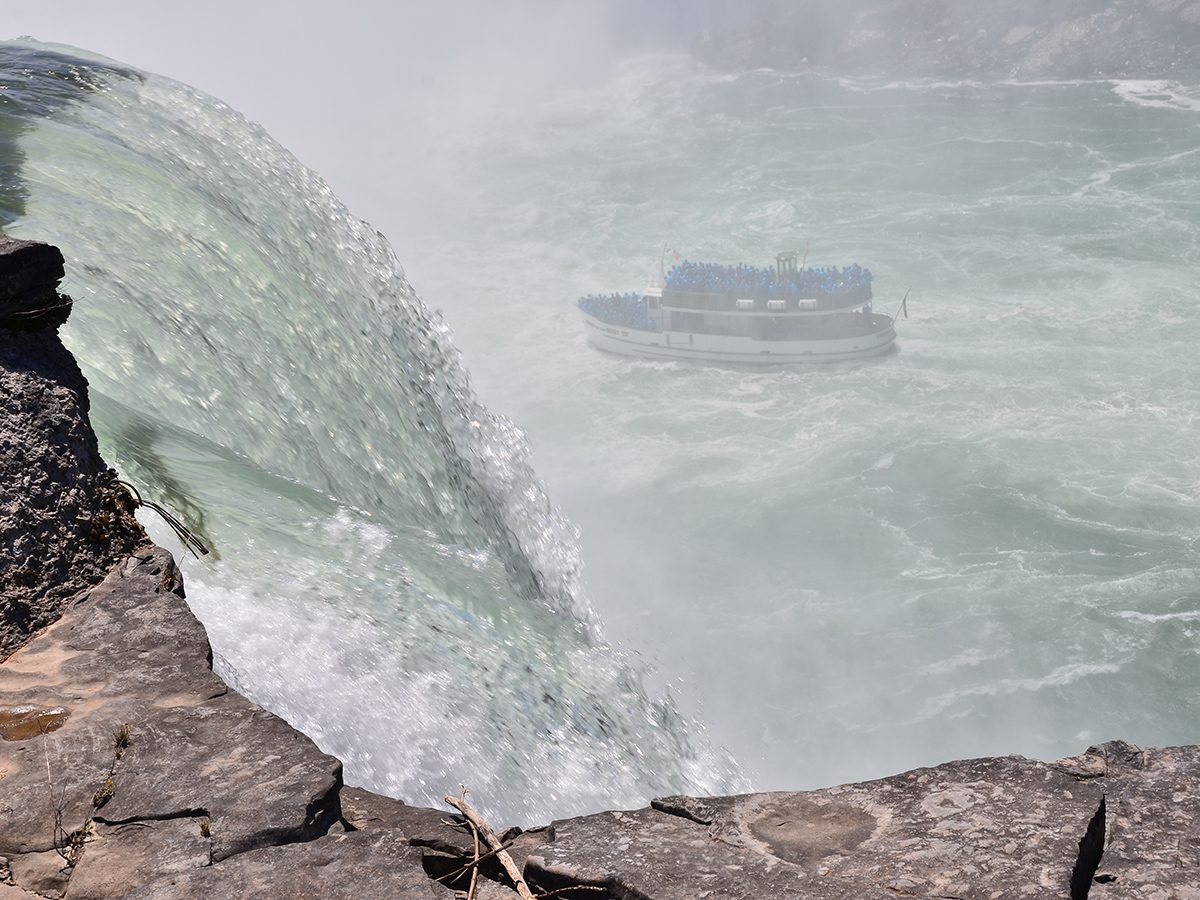 Best boat photography across Canada - Maid of the Mist