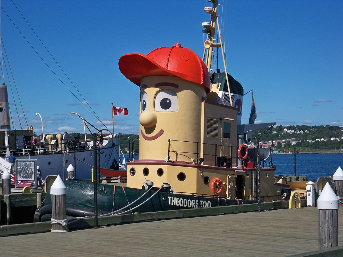 Best boat photography across Canada - Theodore Tugboat in Nova Scotia