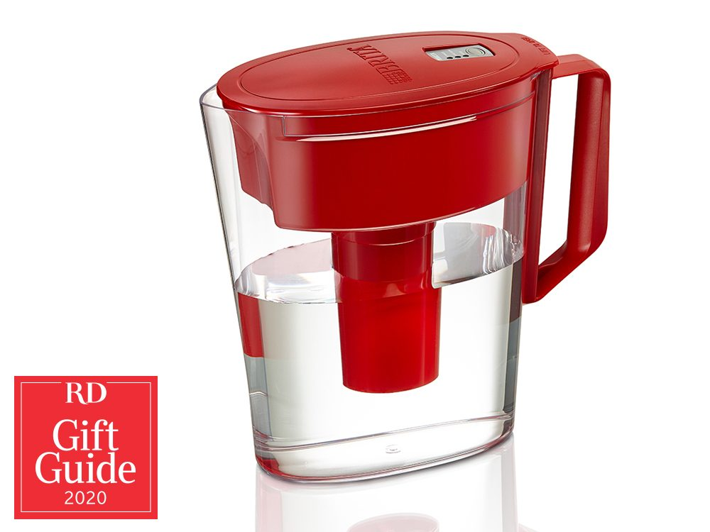Canadian gifts - holiday gift guide - Brita Soho water filtration pitcher