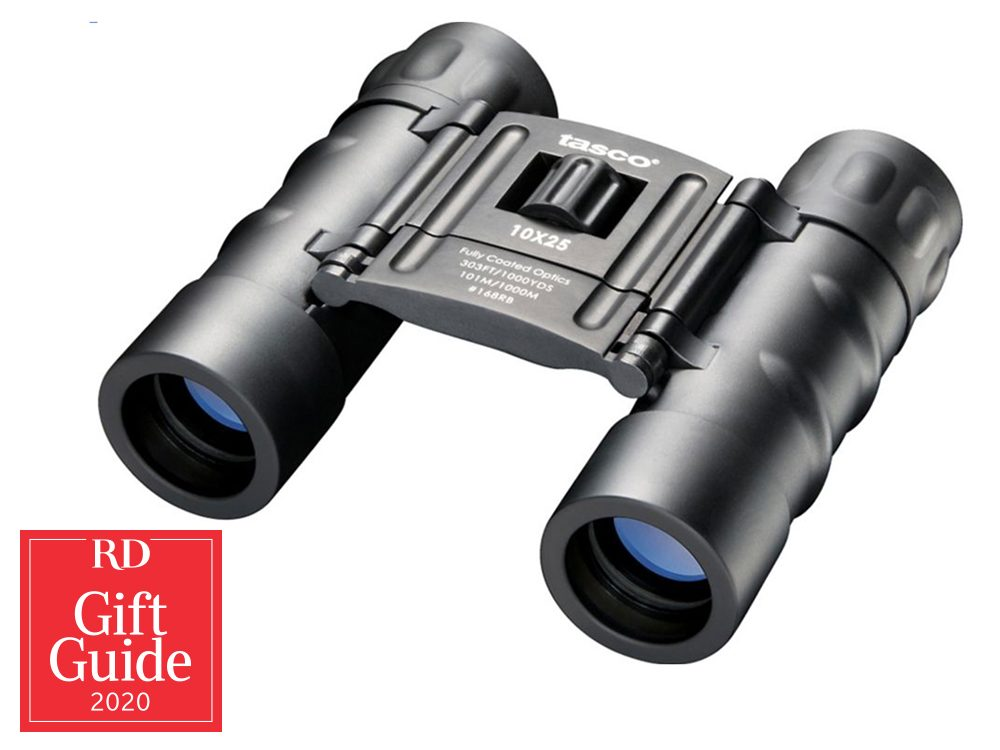 Canadian gifts - holiday gift guide - Canadian Tire Tasco binoculars
