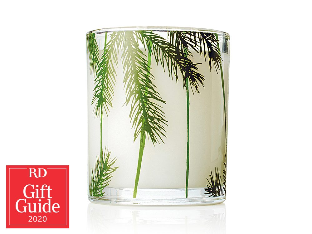 Canadian gifts - holiday gift guide - Thymes Frasier fir scented candle