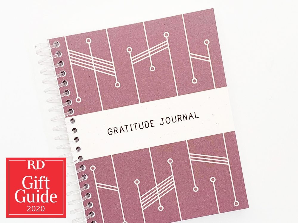 Canadian gifts - holiday gift guide - Etsy Gratitude Journal