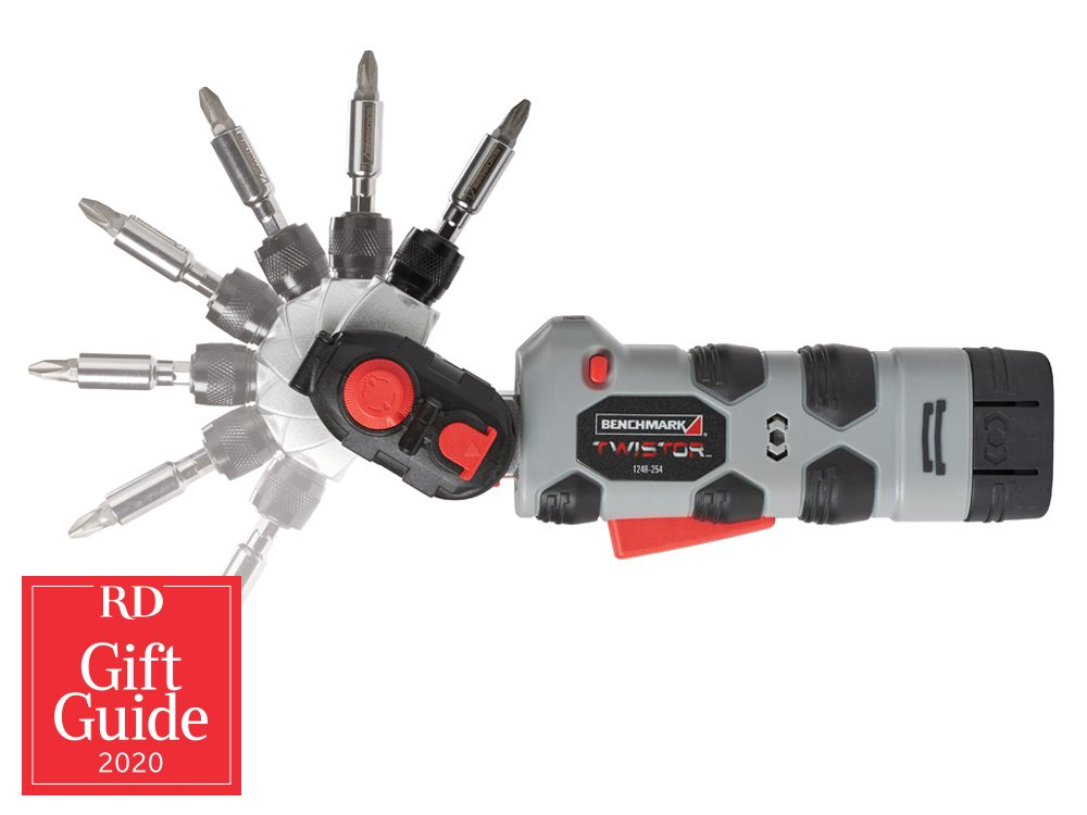 Canadian gifts - holiday gift guide - Home Hardware Benchmark Twistor cordless screwdriver