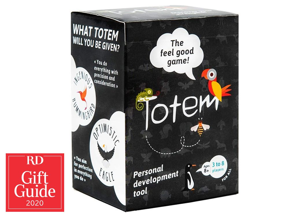 Canadian gifts - gift guide - Amazon Totem game