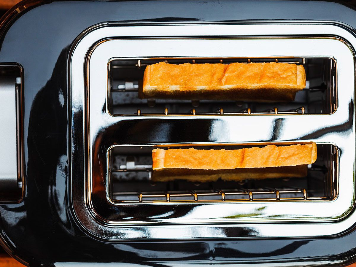 Common toaster mistakes - Directly Above Shot Of Toaster On Table
