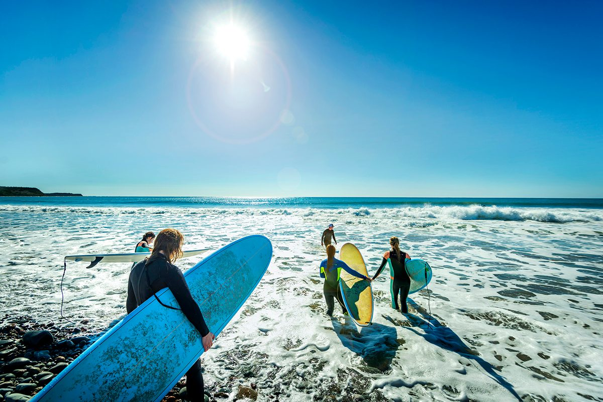 Day trips from Halifax - Lawrencetown Nova Scotia surfing
