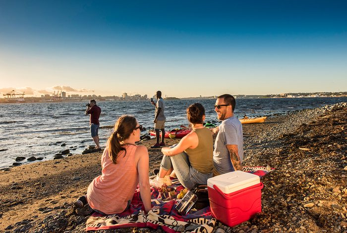 Day trips from Halifax - McNabs beach