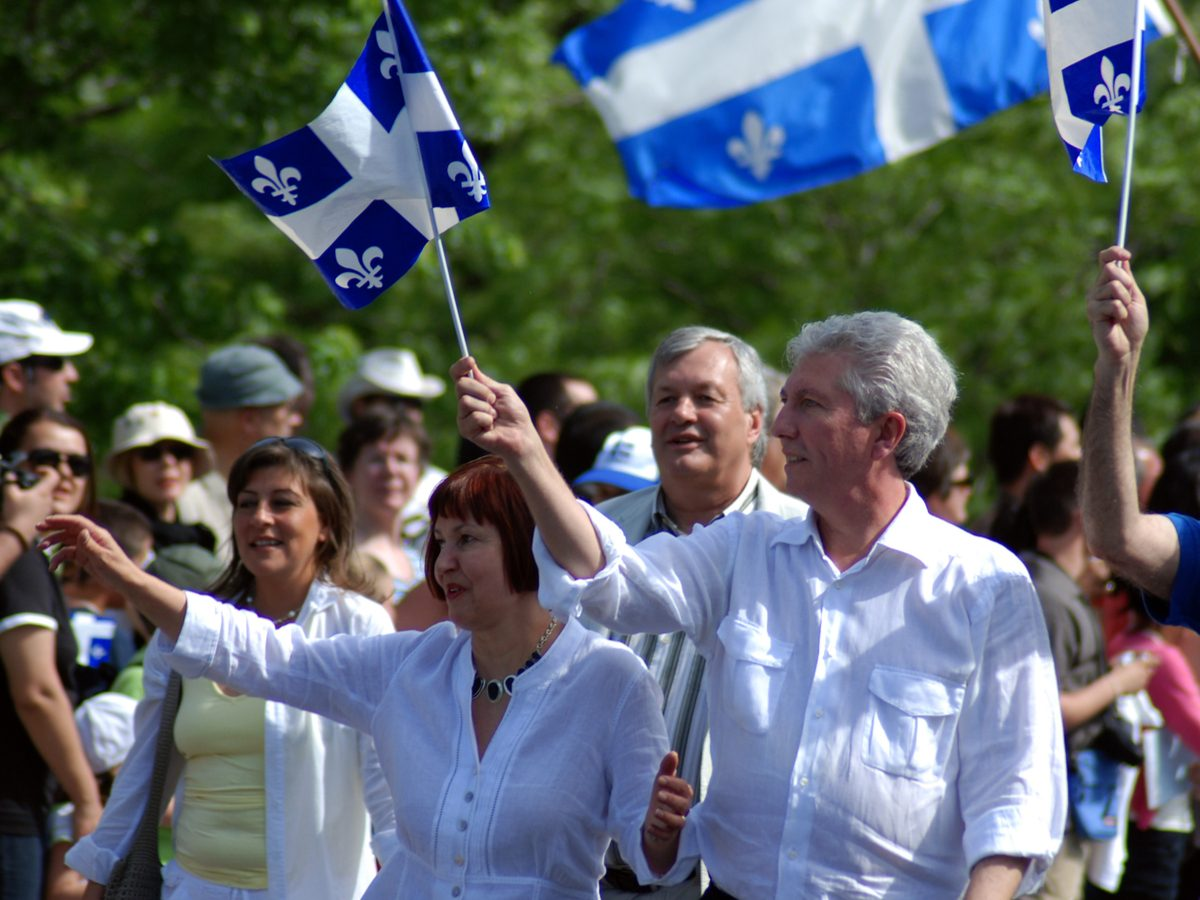Campaign in Quebec