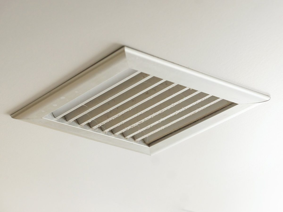 Home fire hazards - Dirty air ventilator