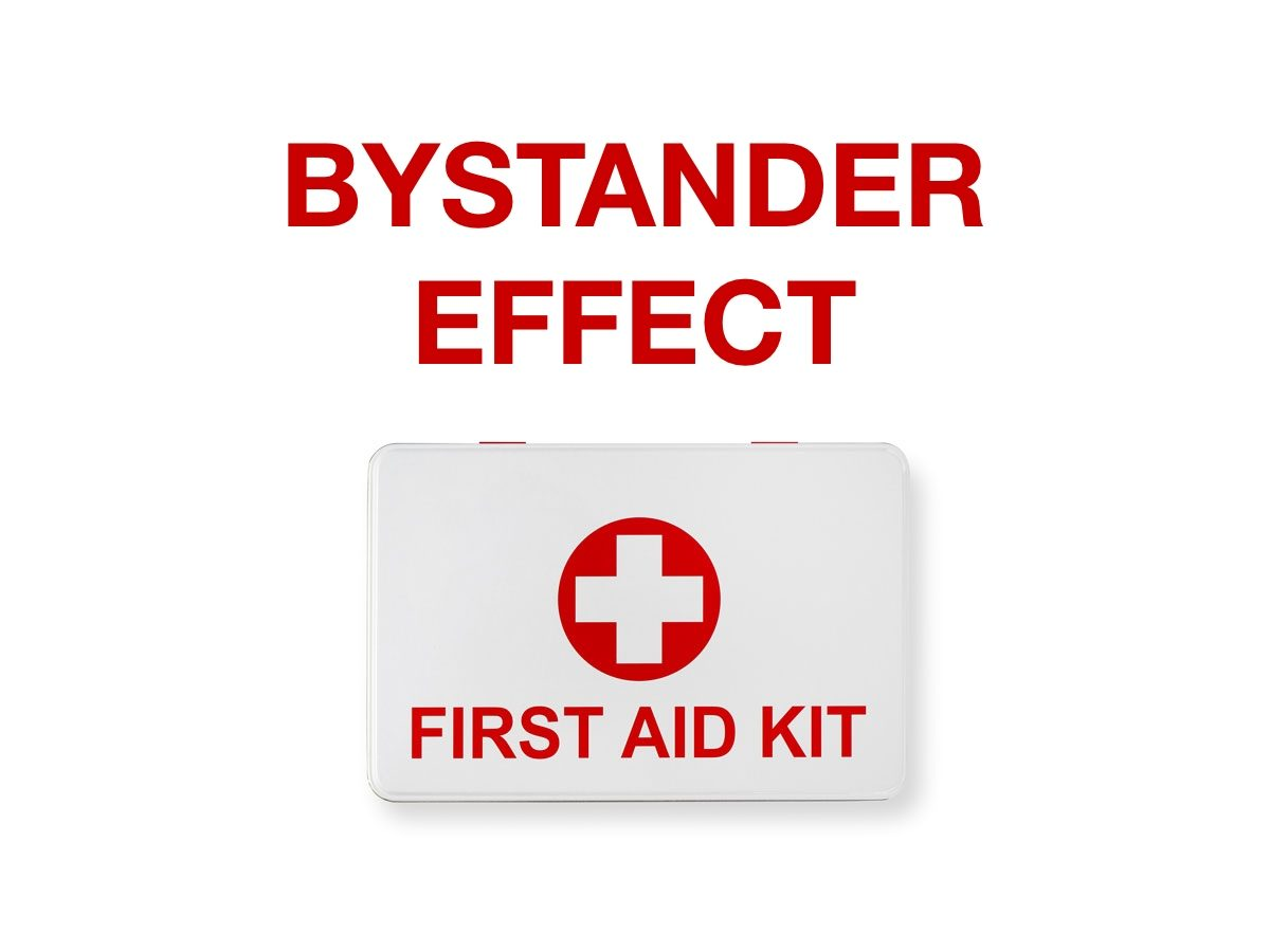First aid terms - Bystander effect