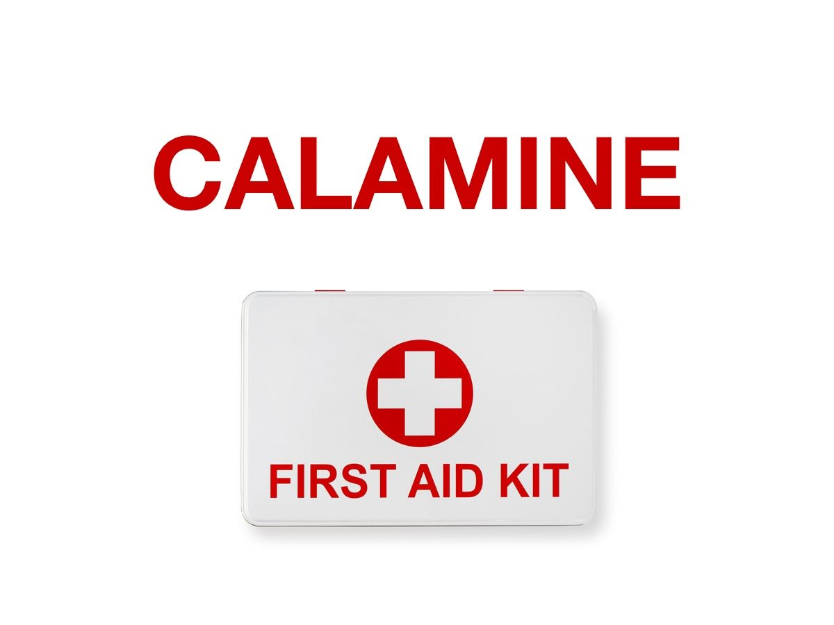 First aid terms - Calamine