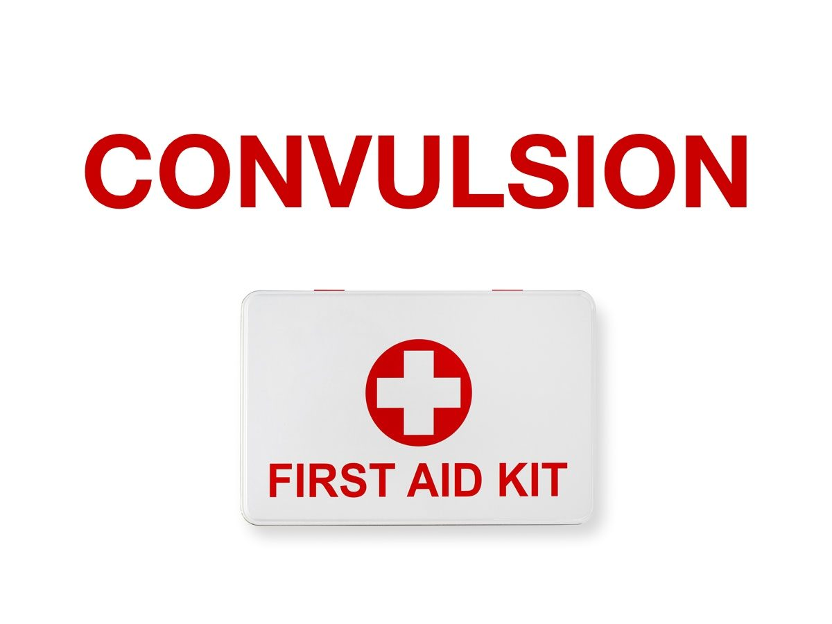 First aid terms - Convulsion