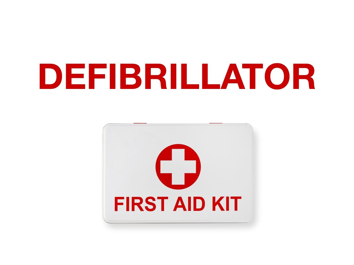 First aid terms - Defibrillator