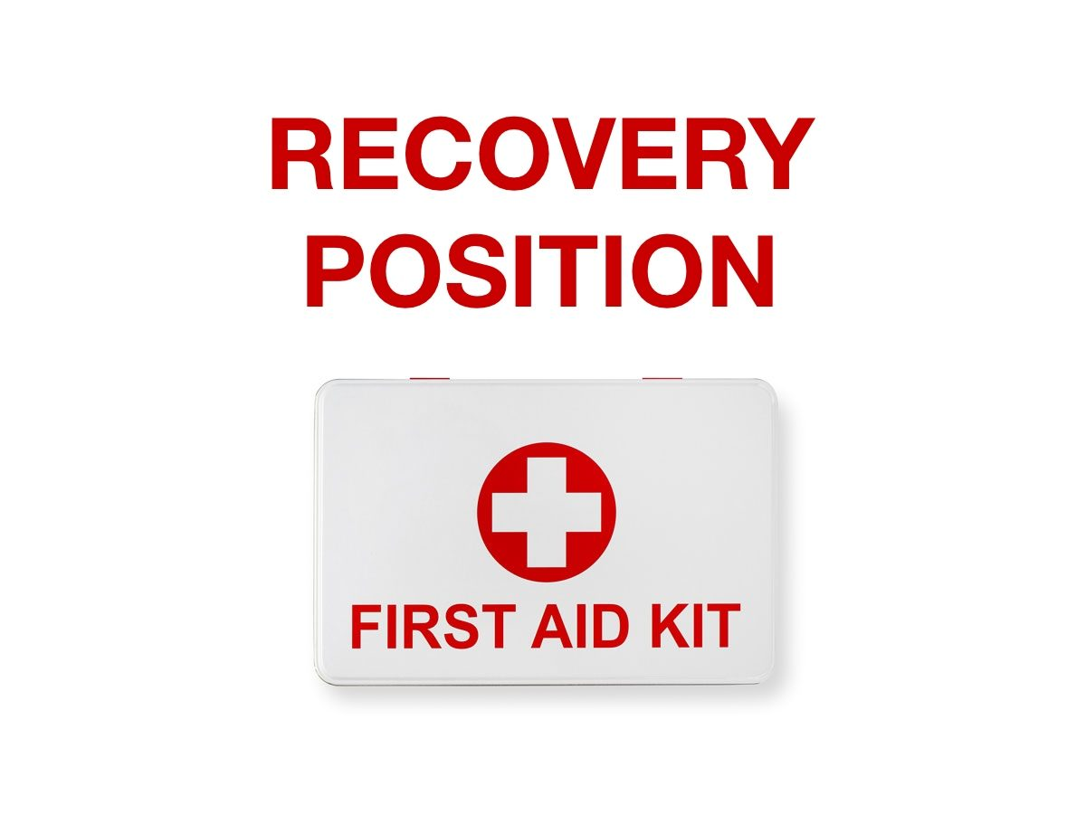 First aid terms - Recovery position