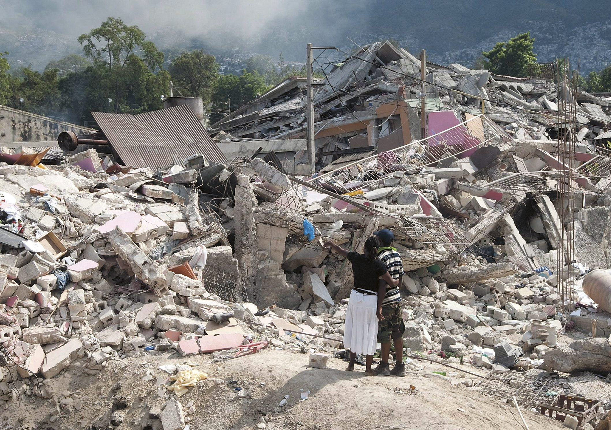 Port-au-Prince, Haiti, in the aftermath of the 2010 earthquake