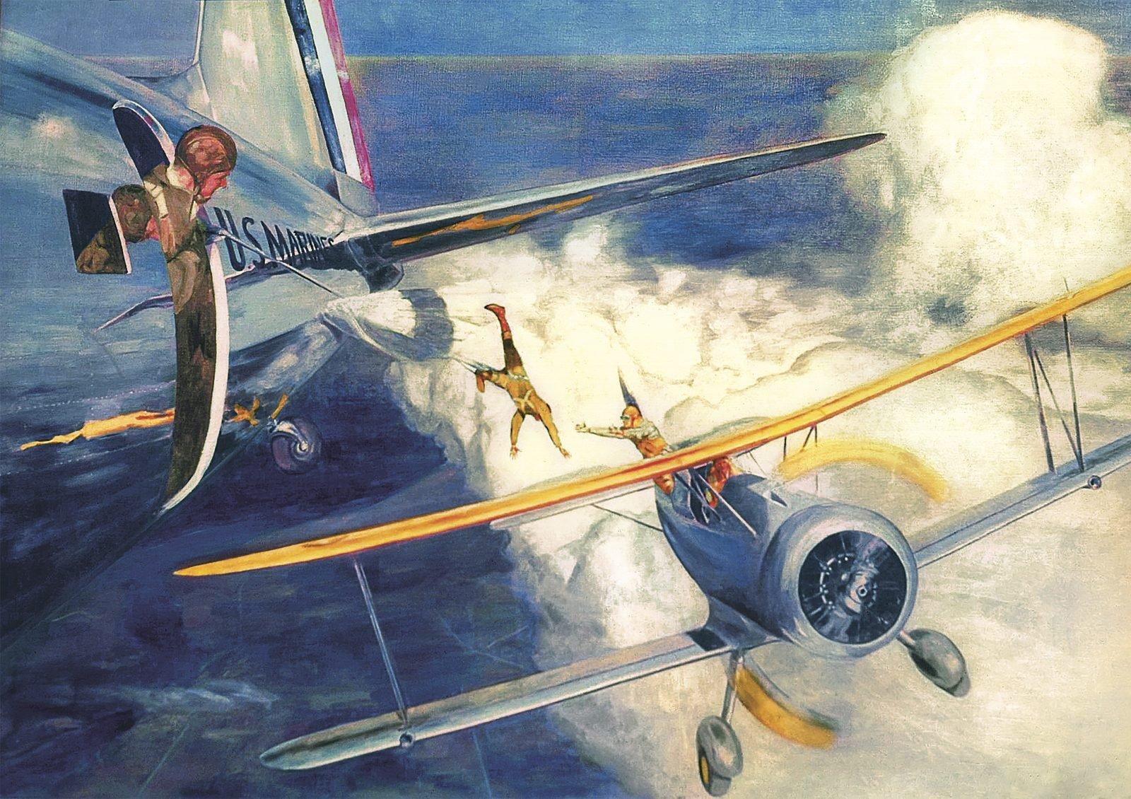 Mid-air rescue