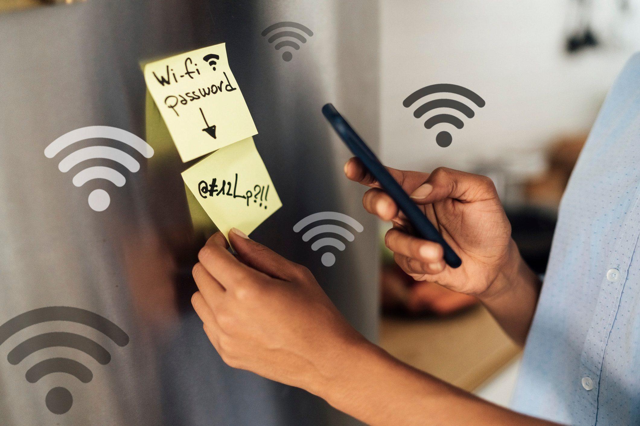 password stolen wifi