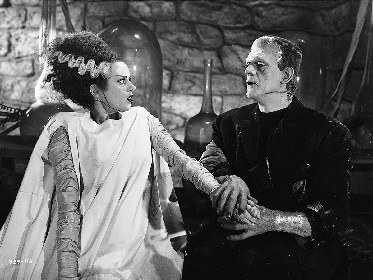 What to do on Halloween during COVID-19 - Bride of Frankenstein on bluray