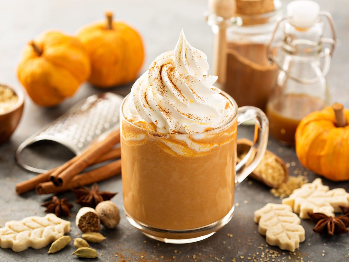 What to do on Halloween during COVID-19 - pumpkin spice latte