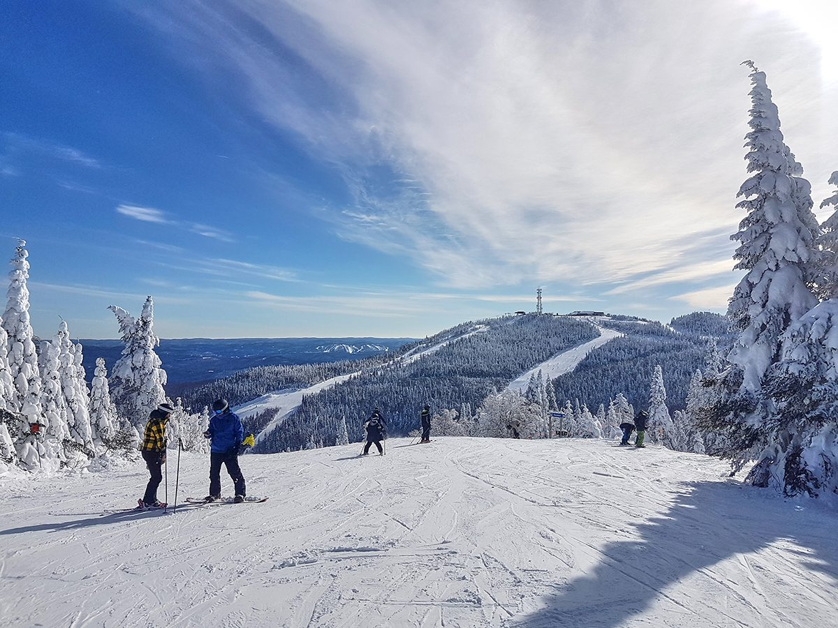 Winter forecast Canada - Skiing in Mont Tremblant Quebec