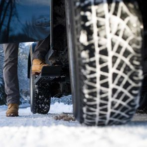 Ideal tire pressure in cold weather - winter driving tires