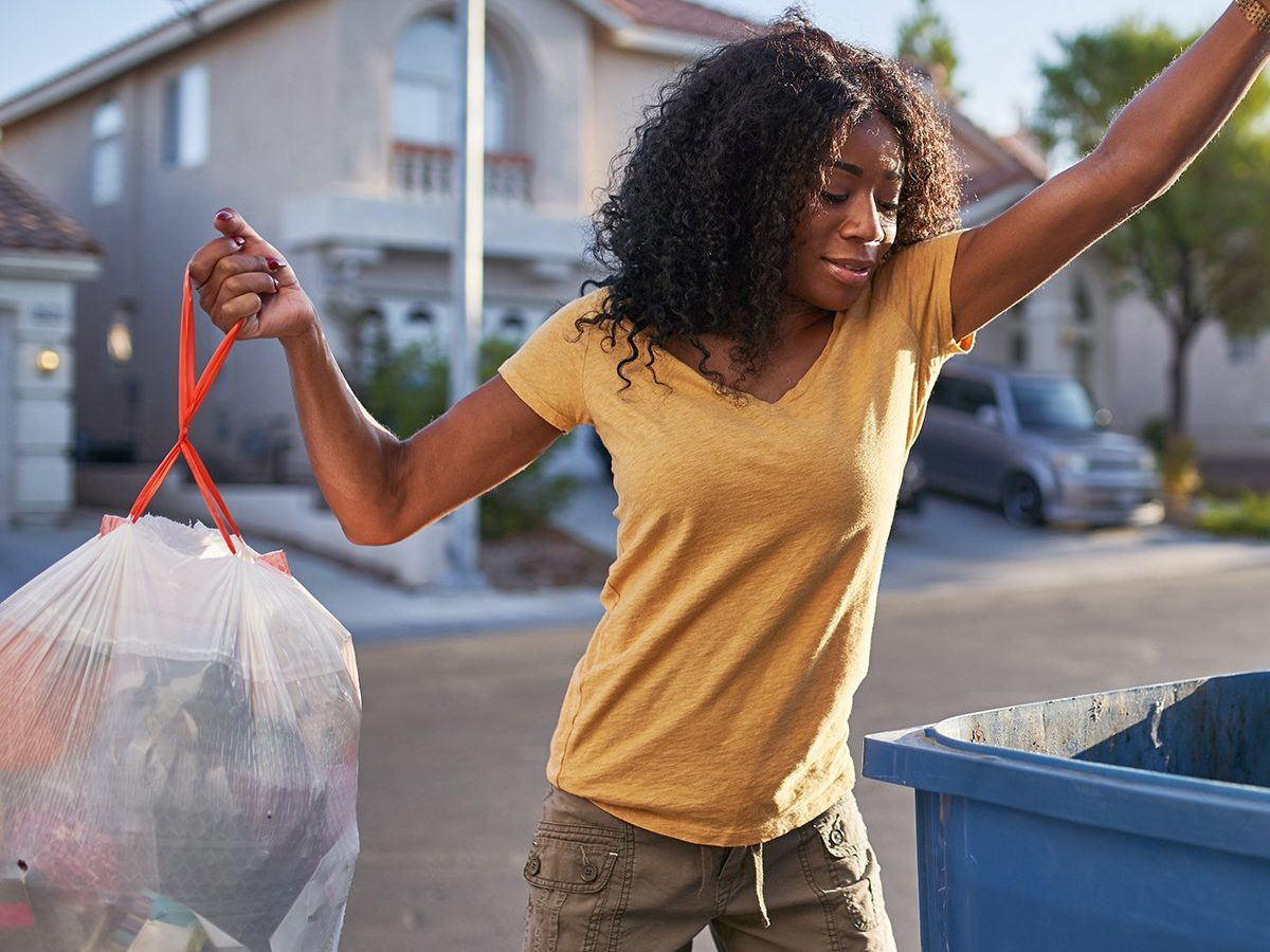 Best chore based on zodiac sign - taking out the trash