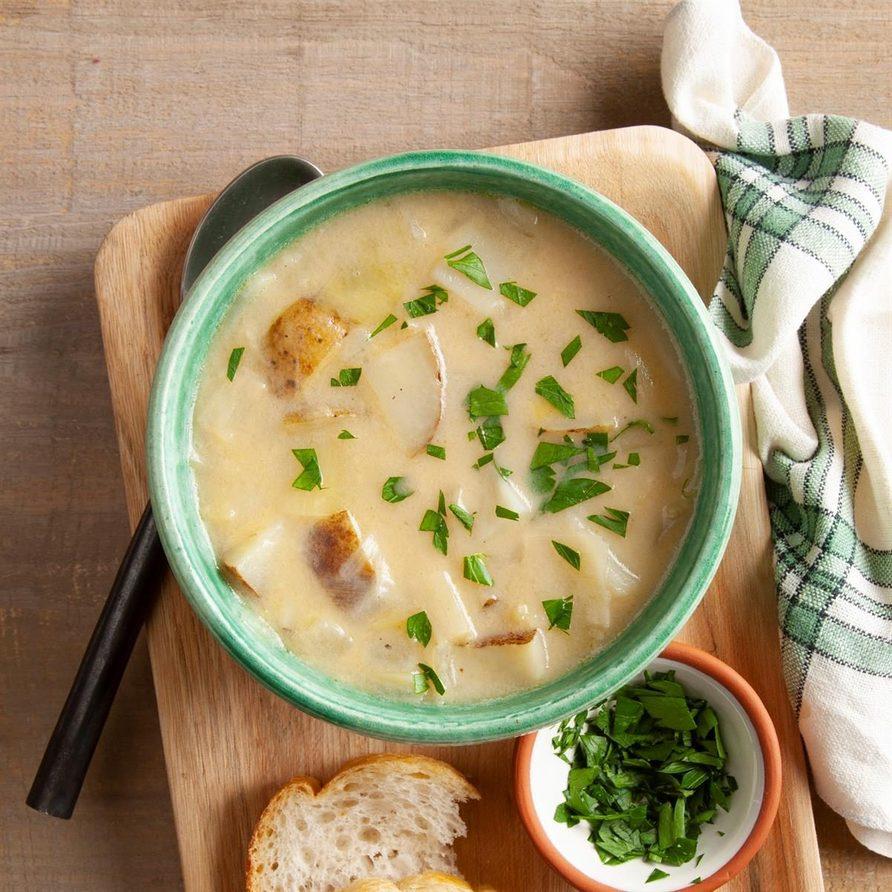 Chunky Potato Leek Soup