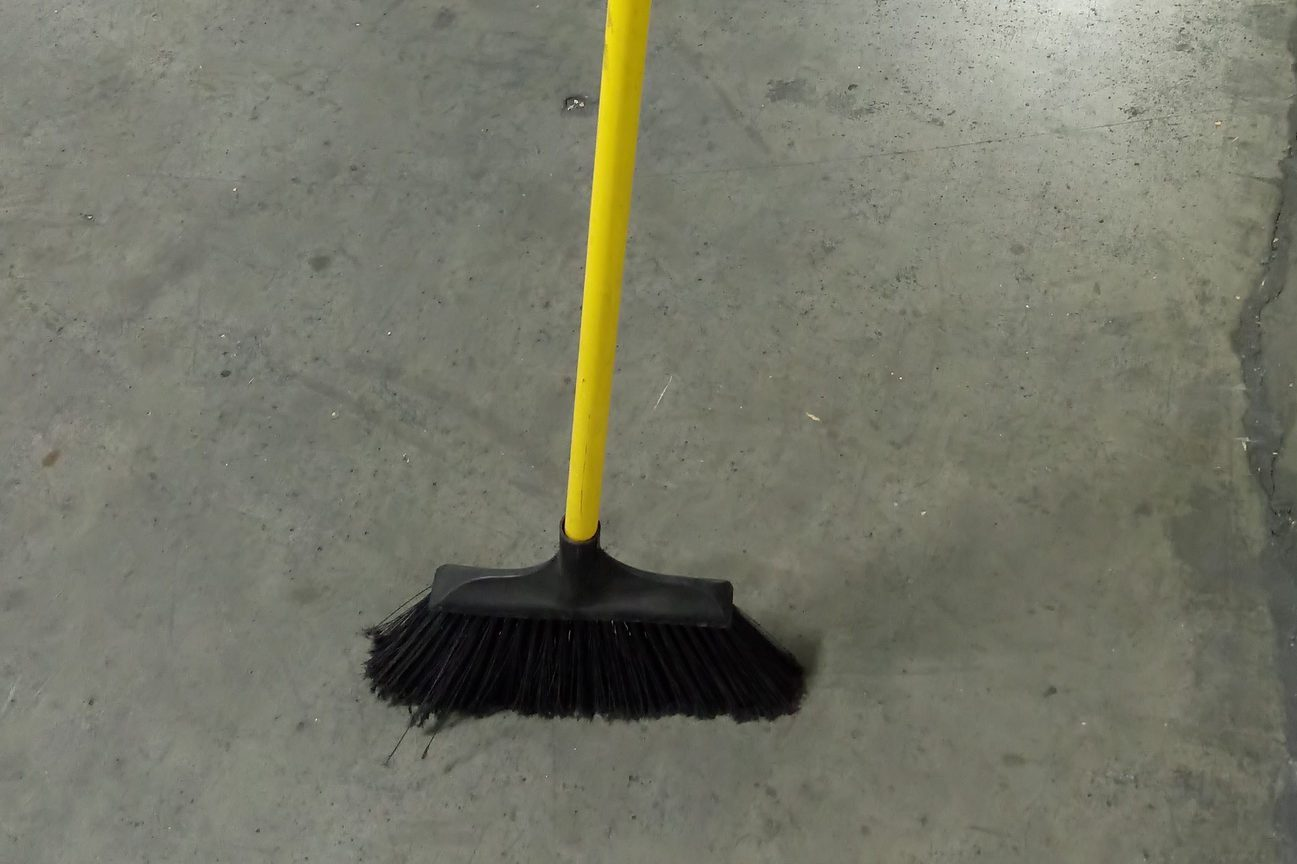 Broom Challenge Photo