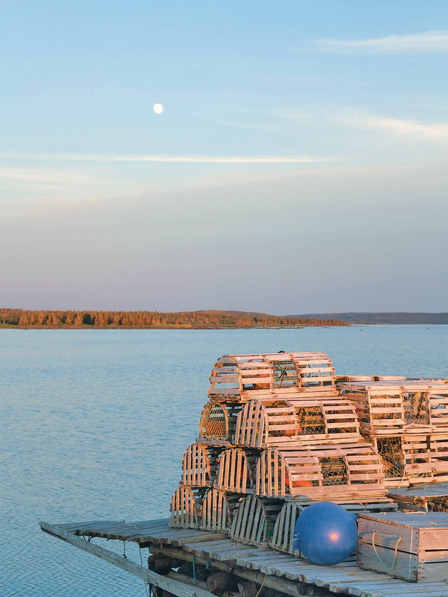 A cross-country trip provided a brand new perspective on the beauty of the East Coast - Lobster traps in Newfoundland