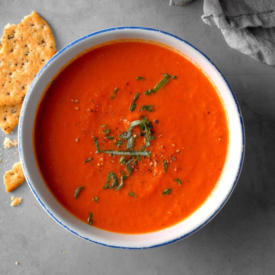 The Best Ever Tomato Soup