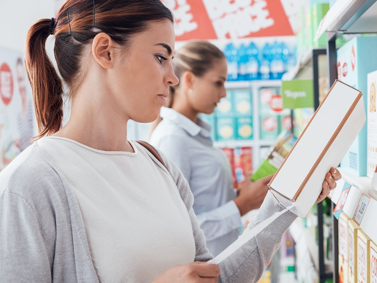 How to lose weight without exercise - read nutrition labels