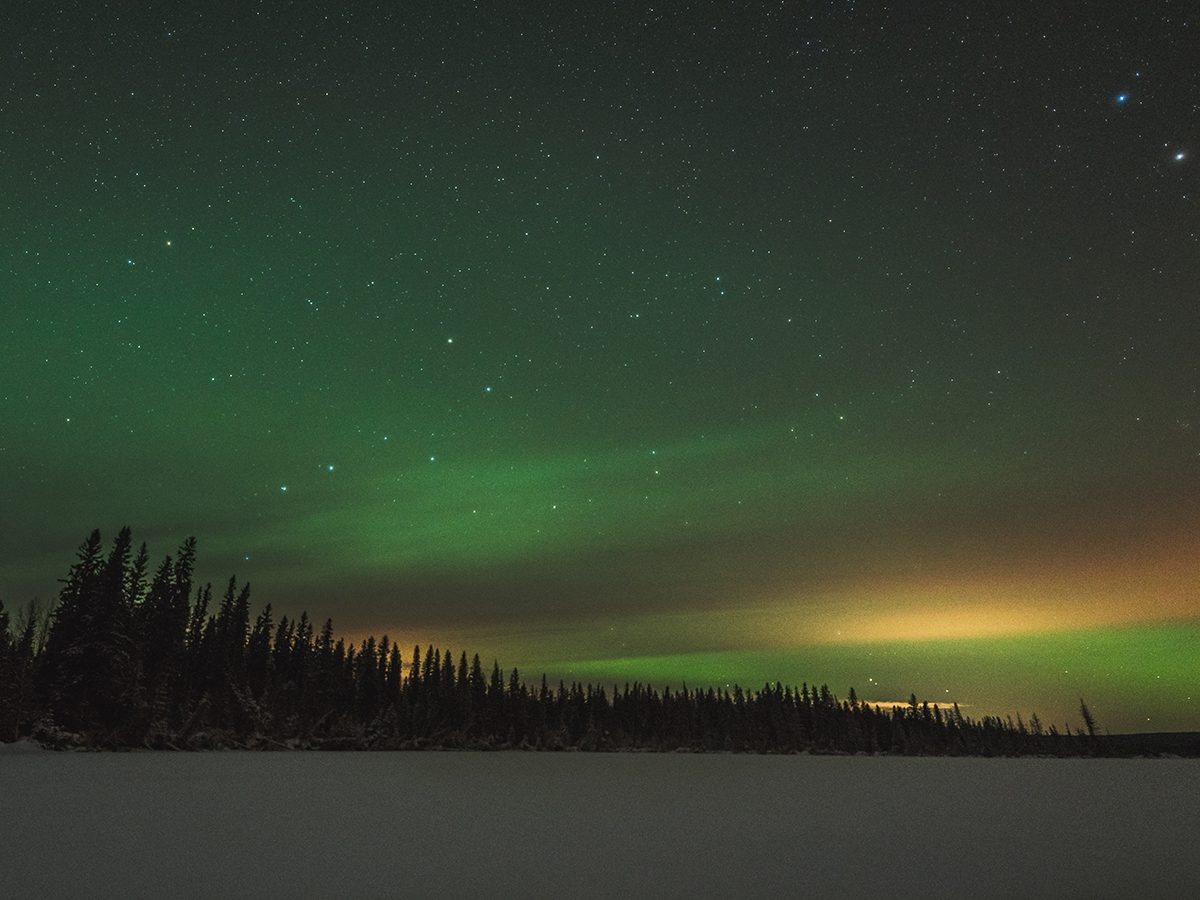 Best places to go stargazing in Canada - Lakeland Provincial Park