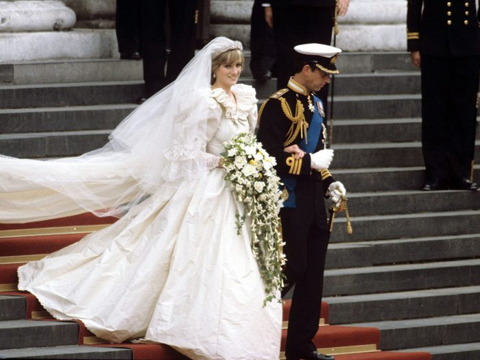Princess Diana Secret Backup Wedding Dress Feature