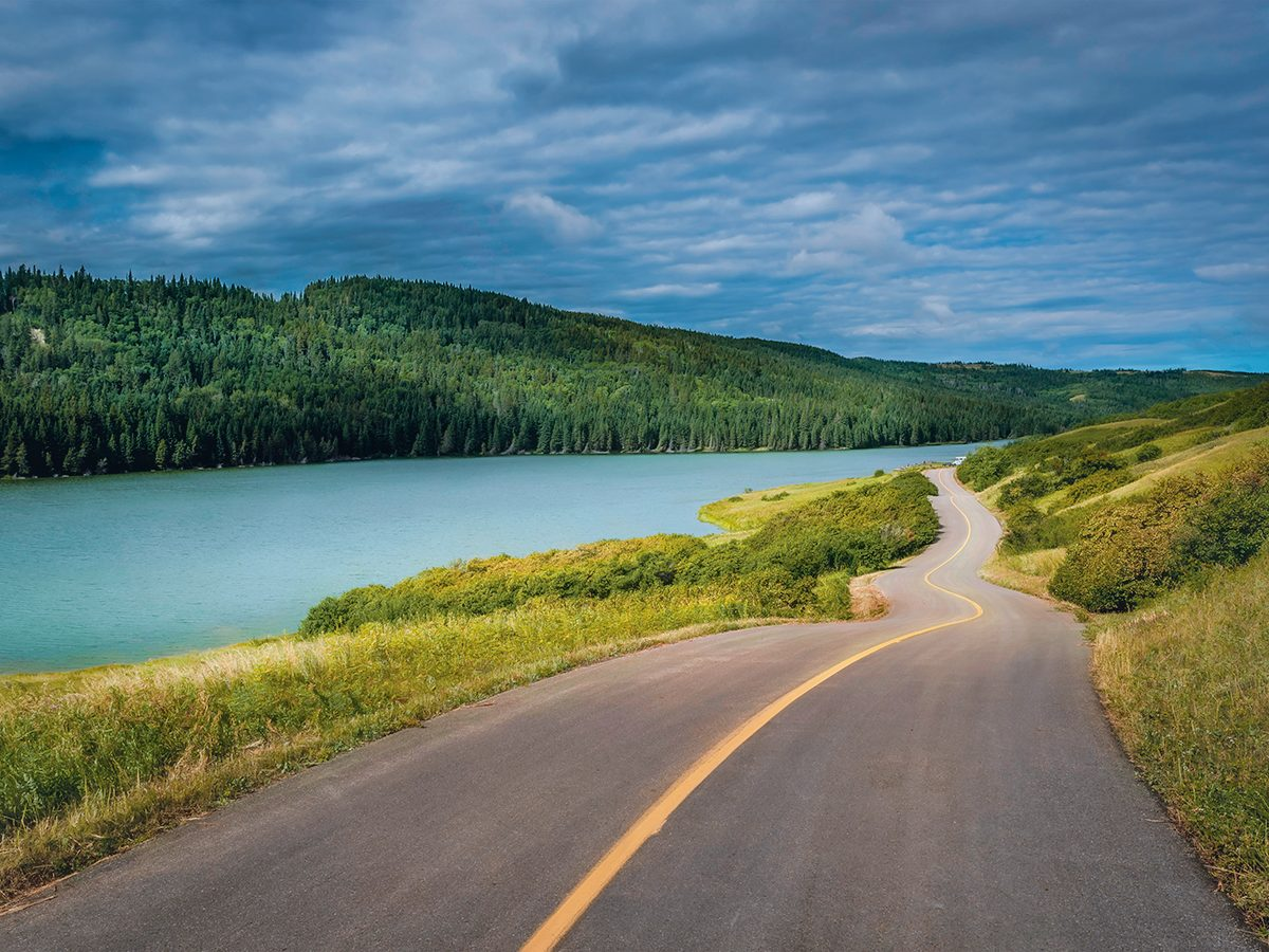 Southern Alberta - Reesor Lake in Cypress Hills