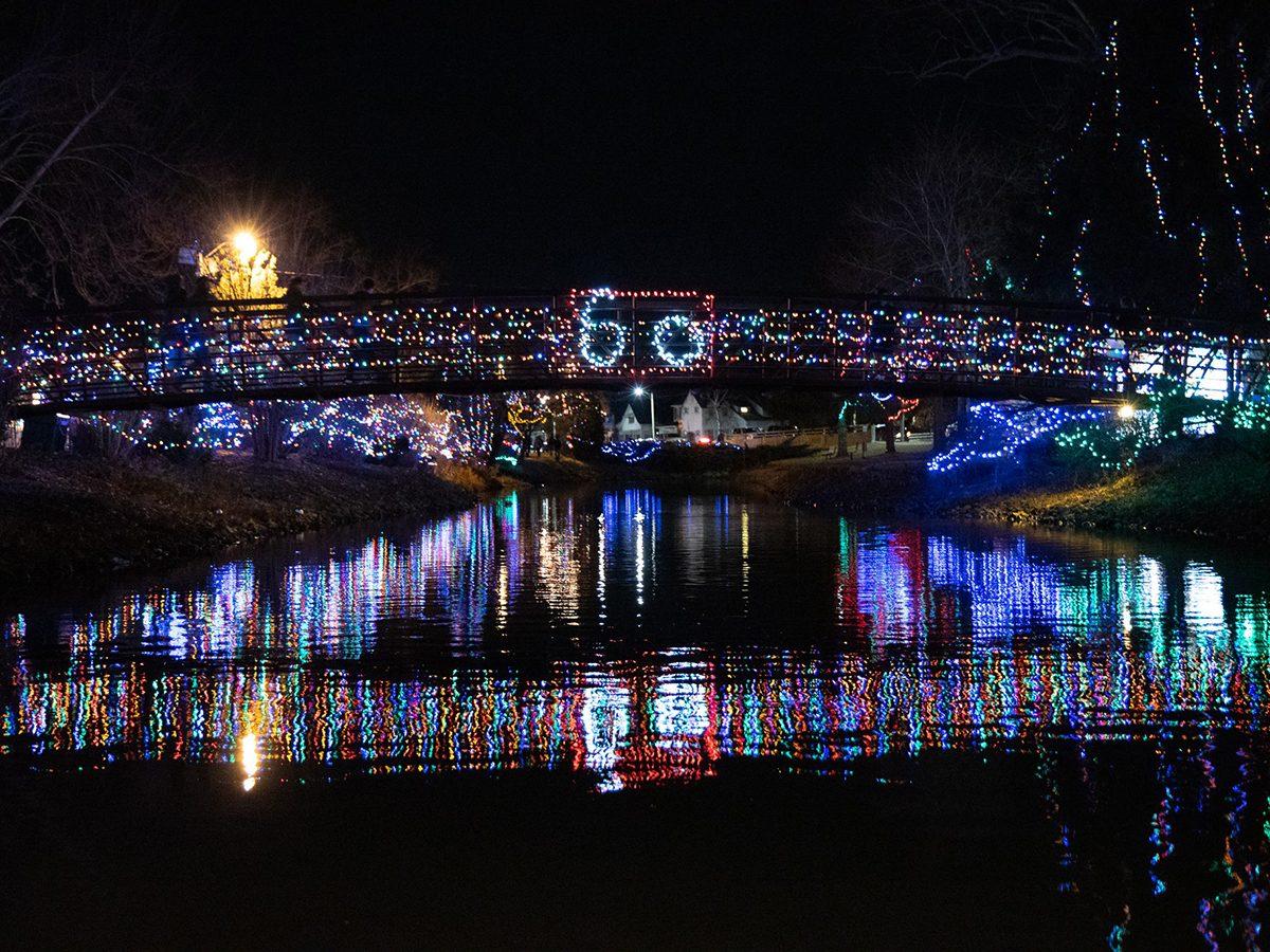 Simcoe Christmas Panorama lights festival