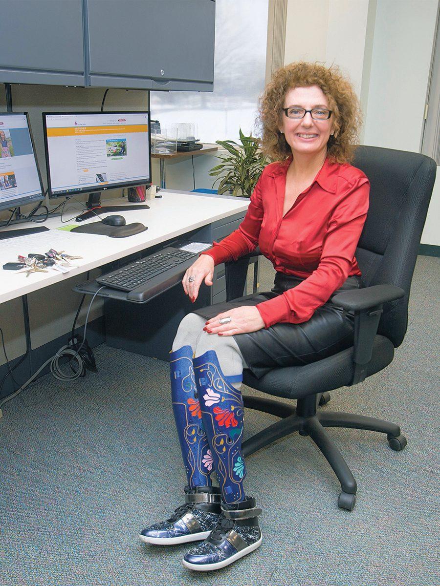 Sima Culjak in the office