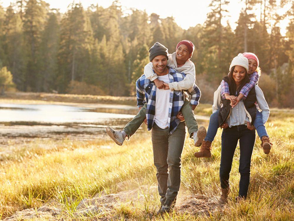 CPP - Family enjoying great outdoors