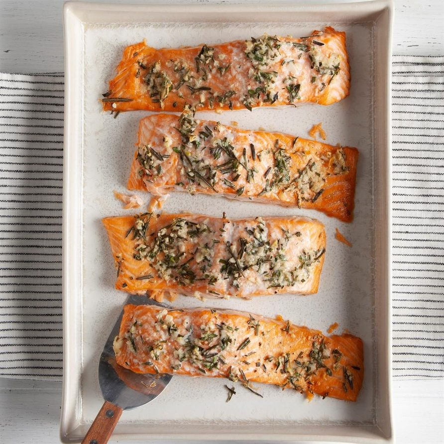 Herb-Roasted Salmon Fillets