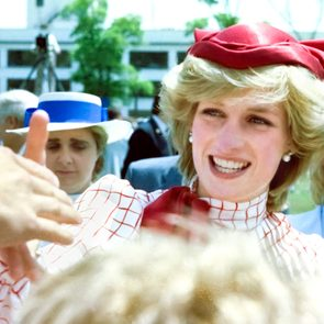 Royal tours of Canada - Princess Diana in Halifax in 1983