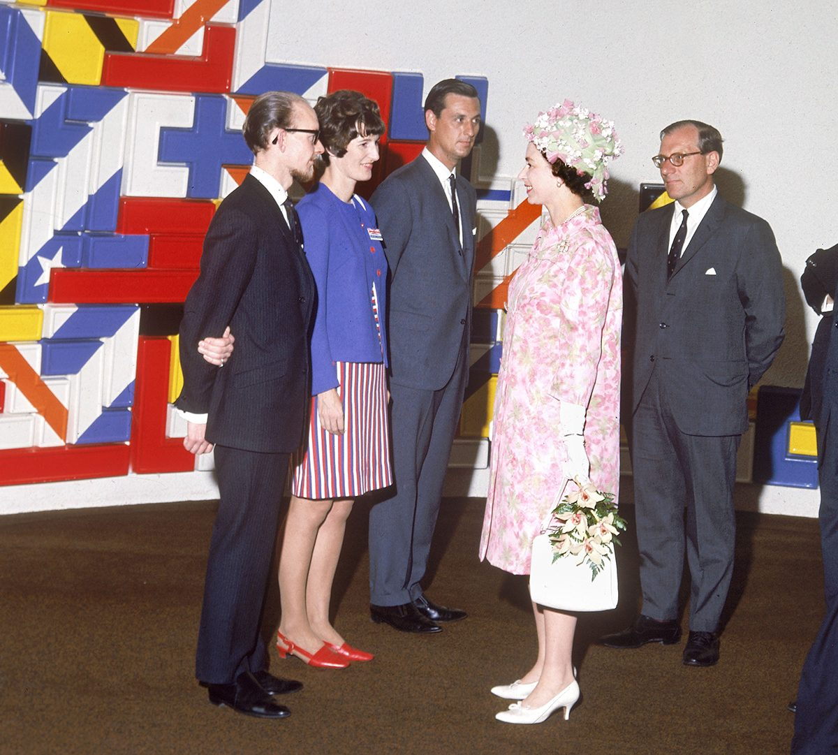 Royal tours of Canada - Queen Elizabeth II at Expo 67 in Montreal 1967