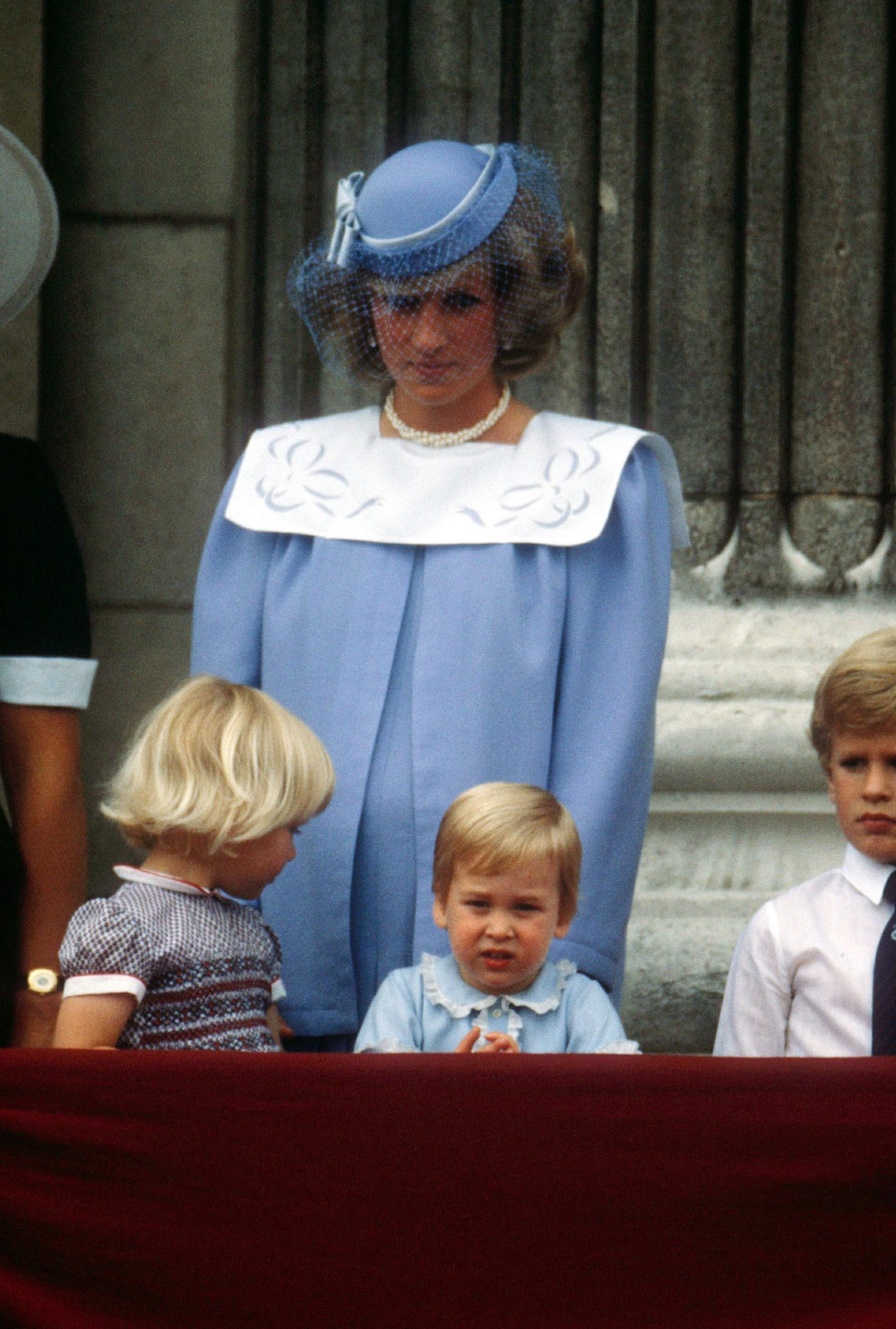 PRINCESS DIANA, PRINCE WILLIAM Trooping of the Colour, London, Britain - 1984