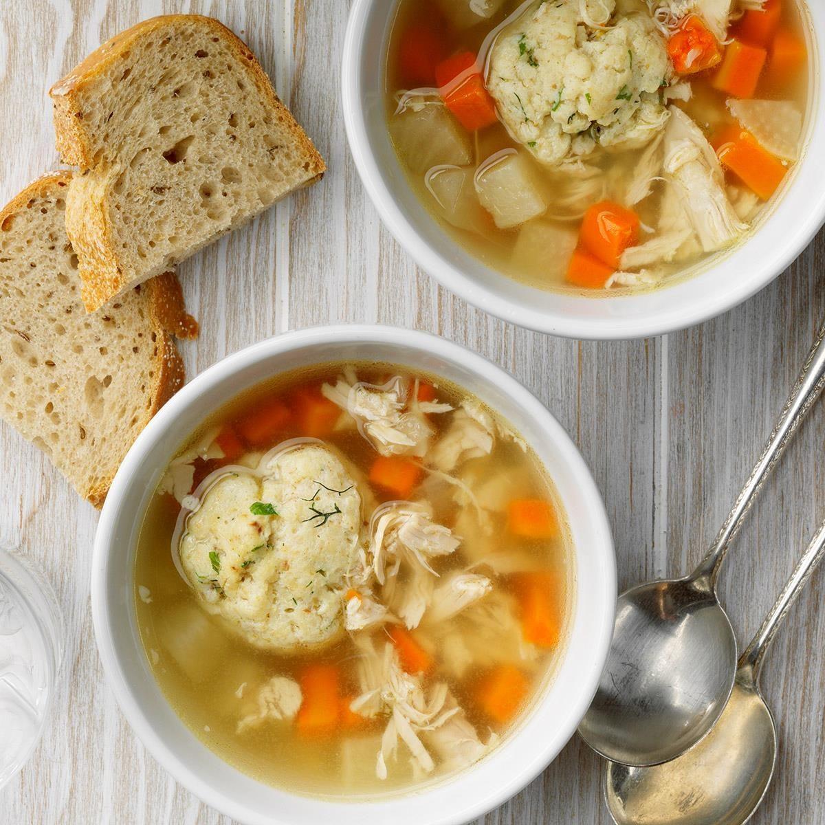 Chicken Matzo Ball Soup